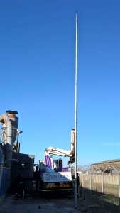 Pole Installation with Power Rig (5)