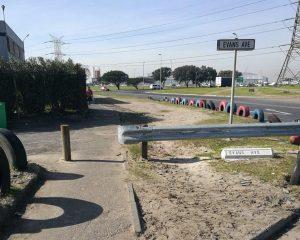Barriers & Bollards @ SBH-Installed June 17 (1)